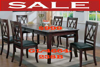 modern dinette sets, marble tables, fabric chairs, 5 pc, mvqc