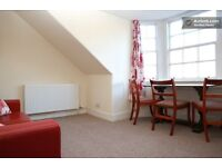 Charming, homely top-floor 2-bedroom flat close the city centre. New bathroom, GCH, carpets, etc.