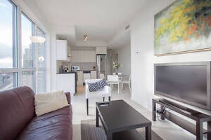 ALL INCLUSIVE:Furnished Luxury condo Liberty Village w/parking!