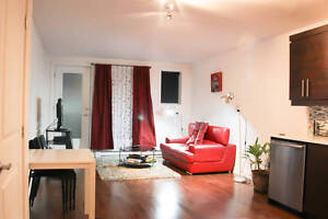 *Stunning furnished 2 brd - All included - Great Location - Sept