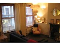 Spacious two bedroom flat with shared luscious garden