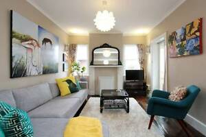 Fully Furnished Home - Central, water views, NBN. West Hobart Hobart City Preview