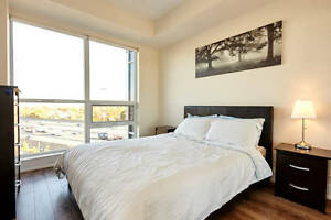 2 BED 2 BATH brand new LUXURY furnished condo. NORTH YORK.