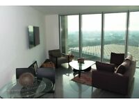 High Technology 1 bedroom,designer furnished, tiled flooring in The Tower, St. George Wharf Vauxhall