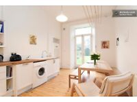 Large, bright, quiet & carefully modernised 2-3 bedroom ground floor flat with garden near Meadows