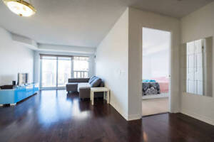 Square One 2 Bed 2 Bath Parking Fully Furnished AC Condo