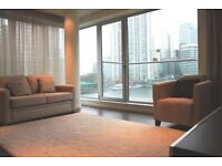 WOW 2 bedroom flat,furnished, extensive facilities in Baltimore Wharf, North Boulevard, Canary Wharf