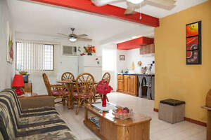 Equipped apartment near the Malecon