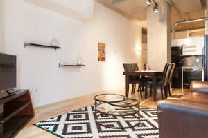 Modern furnished studio with Gym and Pool in the building