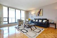 2 BEDROOM luxury FURNISHED suite Yonge Eglinton video tour <<<<