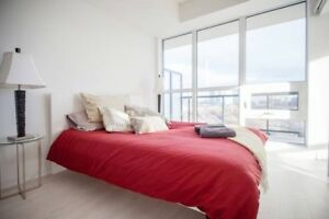ALL INCL. LUXURY in LIBERTY VILLAGE 2 Bdrms, 2 baths w/PARKING!