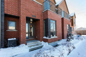 Nouveau project de maison de ville 5 1/2 à louer garage privé