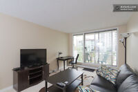 Executive One bedroom Downtown Condo for Short term Rental!