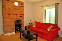 1 JULY : fully furnished stylish 1 bedroom aptmt near down-town