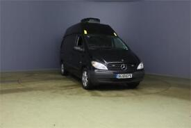 2009 MERCEDES VITO 115 CDI 146 LONG HIGH ROOF AUTO VAN LWB DIESEL