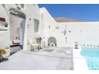 Santorini Flights & Hotel June 11 - 15 - Private Villa for 2 & 1 child (Couple only available)