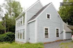Bright and beautiful ocean view flat in Purcell's Cove