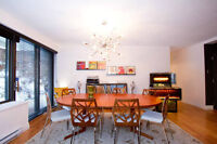Downtown Midcentury Furnished Condo from May 1, 2015