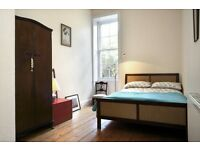 Lovely room to rent on Leith Walk. Flat shared with creative professional couple.