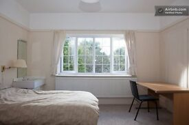 Great room very big , ideal for couple or friends sharing. Charminster