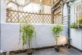 2 bedroom patio garden flat - shortlet