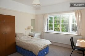 Very big room . ideal for couple or friends sharing ( £ 67.5 per person !!) all bills included