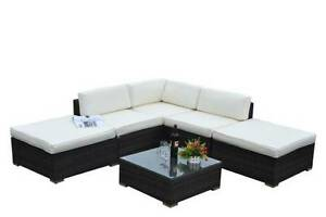 PreAssembeled NEW Outdoor PE Rattan Wicker Sofa Lounge Set YFF004 Auburn Auburn Area Preview