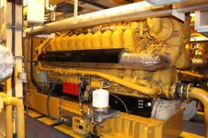 2000 KW Caterpillar Gas Gen Sets in Super Arctic Containers