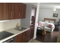 Large studio all included in College Green/City Center-No fees.