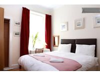 3 twin or double bedrooms flat for short or long term available for 3-6 people