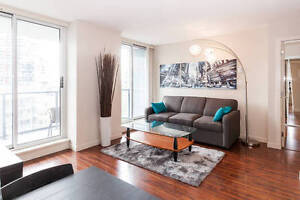 Gorgeous furnished 2 bed 2 bath condo in Yaletown