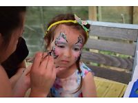 Face painting; Glitter tattoo; Photography; Events organization and managment;