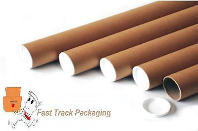 5 x A2 SIZE POSTAL TUBES, EXACT SIZE IS 460mm (L) x 45mm DIAMETER