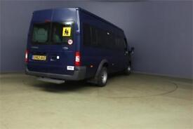 2013 FORD TRANSIT 430 TDCI 135 EL 17 SEAT BUS MEDIUM ROOF DRW RWD MINIBUS DIESEL