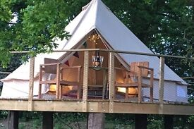 Glamping/ holiday lets site assistant required