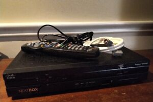 NextBox Roger Cable HDTV - complete Box with Remote & Cables