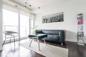 Furnished 1+1 Den (two beds) for Rent in the Heart of Downtown