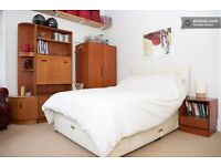 Large bright warm spacious corner double room in carefully modernised tenement flat