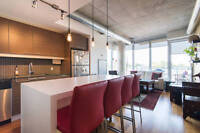 Beautifully Decorated & Furnished Centretown Condo all inclusive