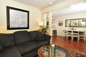 Newly renovated 2 bdrm furnished Apt in Roncesvalles/High Park