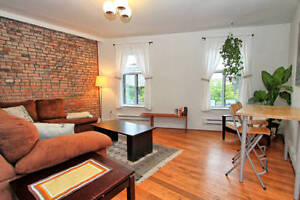 Furnished Old MTL- Rustic 2 Bedroom Facing Canal