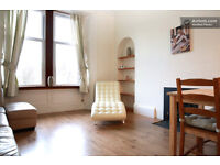 Lovely warm light central flat with south facing views of The Crags. Very quiet and low council tax