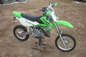 KX65,  awesome kids dirt bike, 2 stroke