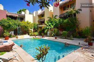 Condo for rent in Playa del Carmen! 3 bedrooms w/ pool