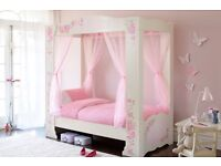 Dreams four poster Princess bed - Collection only