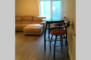 new 1-bed apartment, fully furnished, private entrance, Westboro
