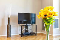 WEEKLY 2 bdrm fully FURNISHED & equipped suite Toronto MUST SEE!