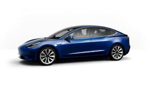 Tesla Model 3 ... Ready for Configuration... get in 4-8 Weeks