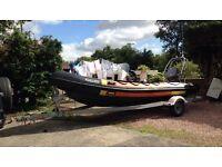 Hummer rib boat 5.5m