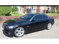Bmw 3 series convertible hard roof 2.0 litre black